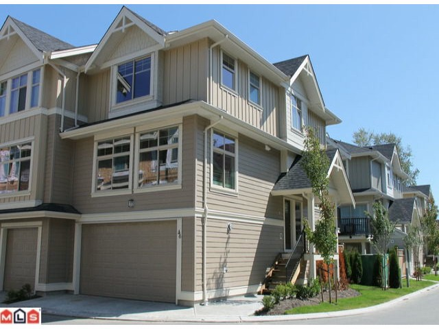 Main Photo: 46 19525 73RD Avenue in Surrey: Clayton Condo for sale (Cloverdale)  : MLS® # F1218171