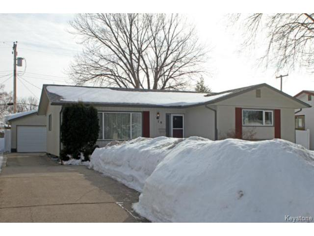Main Photo: 19 Cook Road in WINNIPEG: Westwood / Crestview Residential for sale (West Winnipeg)  : MLS® # 1404356