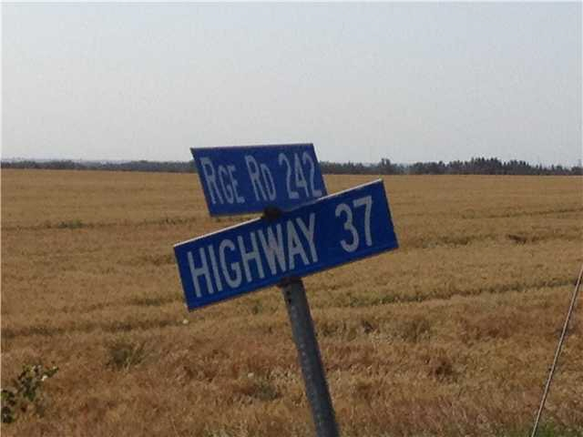 Main Photo: Hwy 37 242 Range Road: Rural Sturgeon County Rural Land/Vacant Lot for sale : MLS® # E4042338