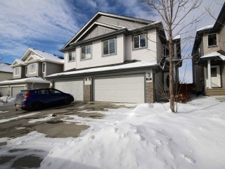 Main Photo: 6950 19A Avenue in Edmonton: Zone 53 House Half Duplex for sale : MLS(r) # E4055721