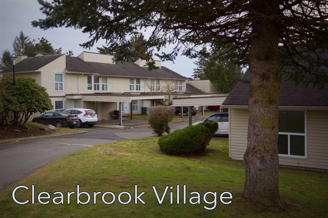 "Main Photo: 192 32550 MACLURE Road in Abbotsford: Abbotsford West Condo for sale in ""Clearbrook Village"" : MLS®# R2155070"