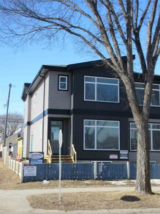Main Photo: 11504 83 Street NW in Edmonton: Zone 05 House Half Duplex for sale : MLS®# E4102751
