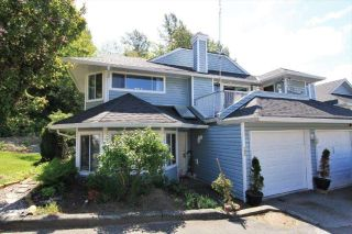 "Main Photo: 122 22555 116 Avenue in Maple Ridge: East Central Townhouse for sale in ""HILLSIDE"" : MLS®# R2265374"