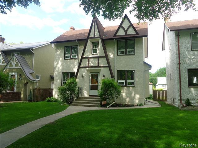 Main Photo: 295 Queenston Street in Winnipeg: River Heights / Tuxedo / Linden Woods Residential for sale (South Winnipeg)  : MLS® # 1615992