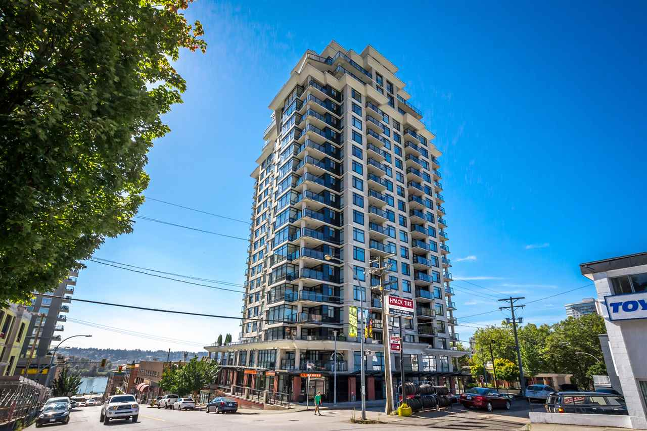 "Main Photo: 2001 610 VICTORIA Street in New Westminster: Downtown NW Condo for sale in ""THE POINT"" : MLS® # R2103117"