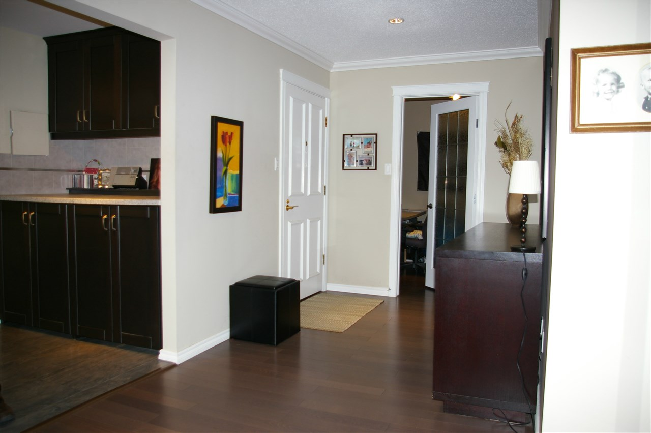 Large, spacious foyer, with den just inside the front door.