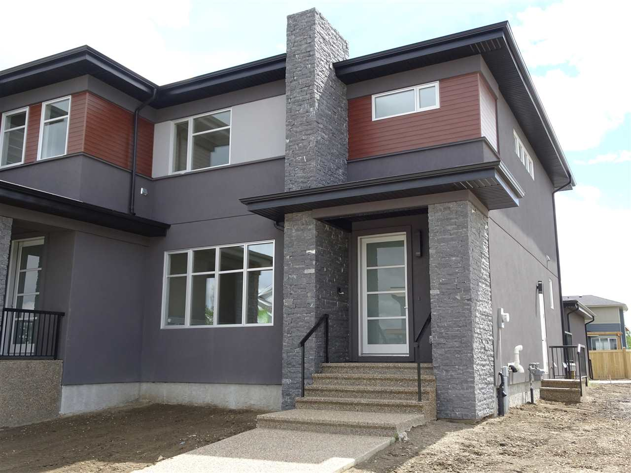 Photo 2: 7255 MAY Road in Edmonton: Zone 14 House Half Duplex for sale : MLS(r) # E4068408