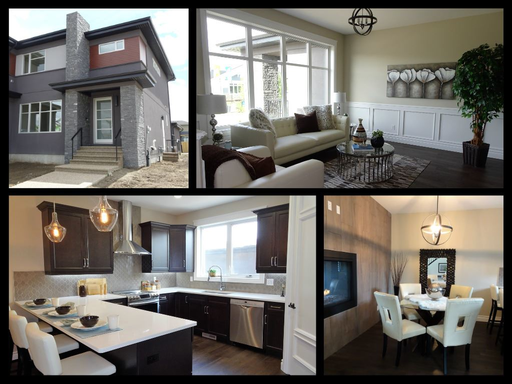 Main Photo: 7255 MAY Road in Edmonton: Zone 14 House Half Duplex for sale : MLS(r) # E4068408