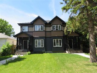 Main Photo: 12014 122 Street in Edmonton: Zone 04 House Half Duplex for sale : MLS® # E4084393