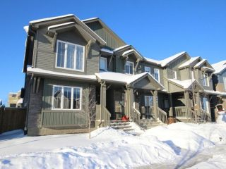 Main Photo: 1040 Graydon Hill Boulevard in Edmonton: Zone 55 Attached Home for sale : MLS® # E4096477