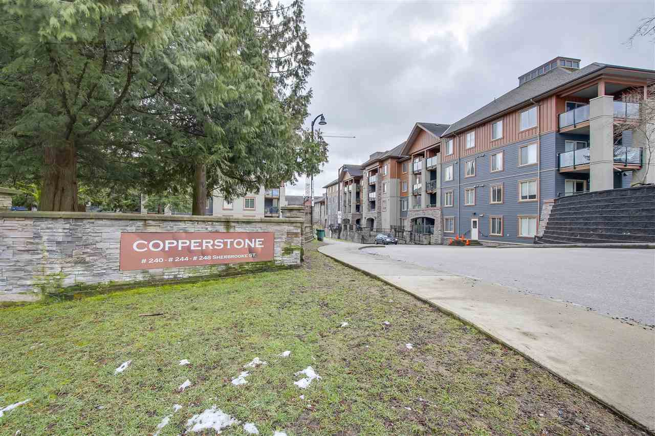 "Main Photo: 3407 240 SHERBROOKE Street in New Westminster: Sapperton Condo for sale in ""COPPERSTONE"" : MLS®# R2243553"