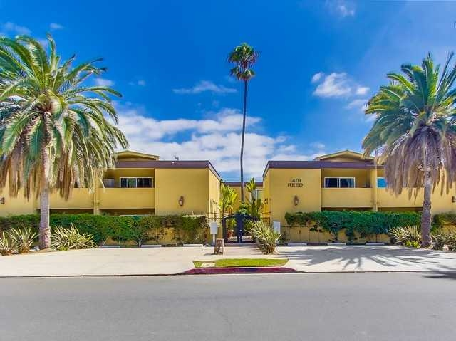 Main Photo: PACIFIC BEACH Condo for sale : 1 bedrooms : 1401 Reed Ave #18 in San Diego