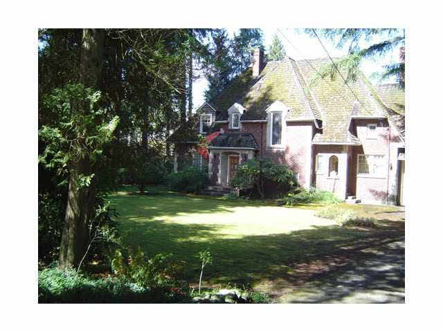 Main Photo: 4785 W 2ND AVENUE in : Point Grey House for sale : MLS®# V851100