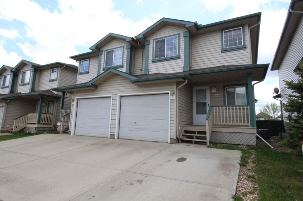 Main Photo: 51 2004 GRANTHAM Crest in Edmonton: Zone 58 House Half Duplex for sale : MLS(r) # E4064622