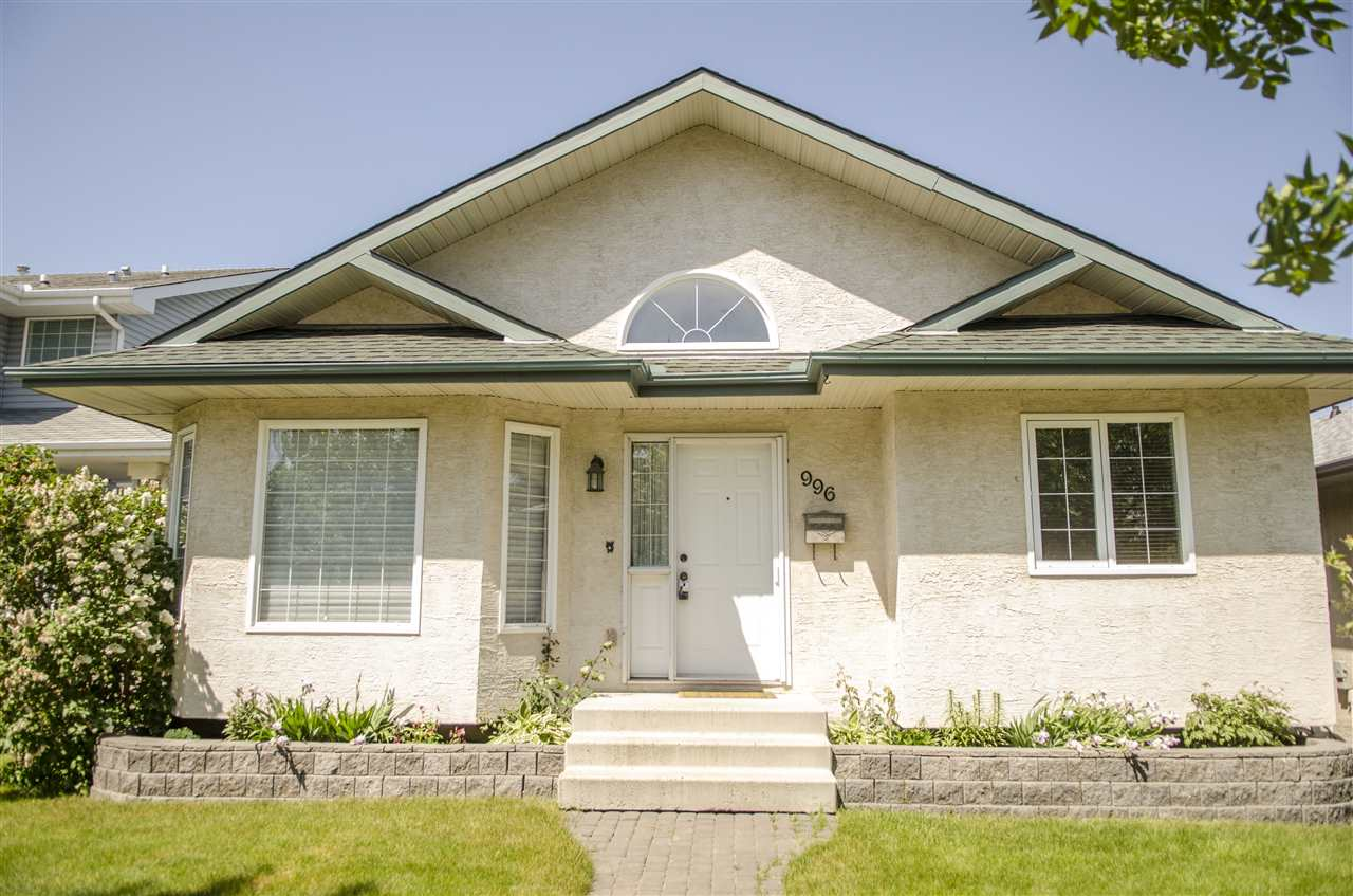 Main Photo: 996 JIM COMMON DRIVE NORTH: Sherwood Park House for sale : MLS(r) # E4068723