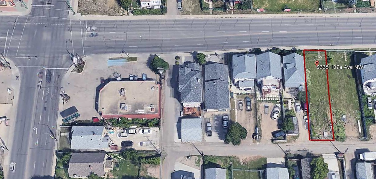 Main Photo: 9335 107A Avenue in Edmonton: Zone 13 Vacant Lot for sale : MLS® # E4074050