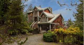 "Main Photo: 340 CREEK Road: Bowen Island House for sale in ""Eagle Cliff"" : MLS® # R2244469"