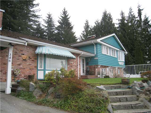Main Photo: 346 VENTURA Crescent in North Vancouver: Upper Delbrook House for sale : MLS®# V869331