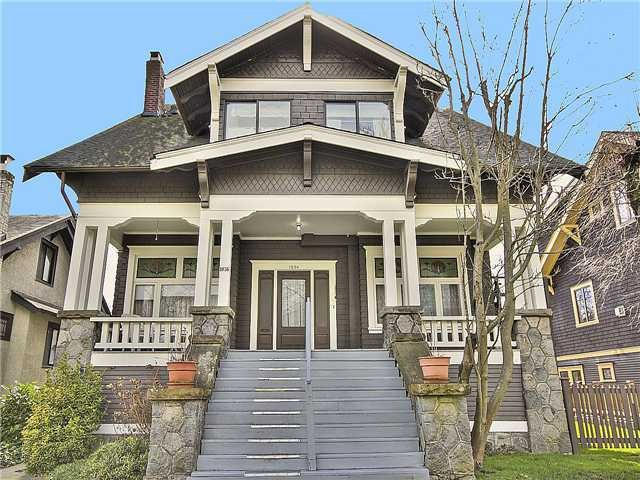 Main Photo: 1836 W 12TH Avenue in Vancouver: Kitsilano House for sale (Vancouver West)  : MLS®# V986529