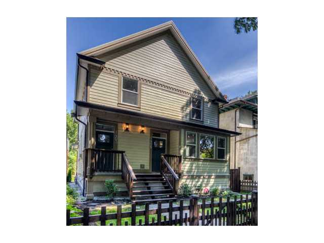 Main Photo: 1405 E 10TH Avenue in Vancouver: Grandview VE House 1/2 Duplex for sale (Vancouver East)  : MLS® # V1036930