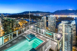 "Main Photo: PH 1 1188 W PENDER Street in Vancouver: Coal Harbour Condo for sale in ""THE SAPPHIRE"" (Vancouver West)  : MLS(r) # R2044206"