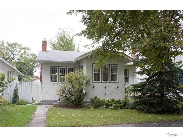 Main Photo: 604 Ingersoll Street in Winnipeg: Sargent Park Residential for sale (5C)  : MLS® # 1624866