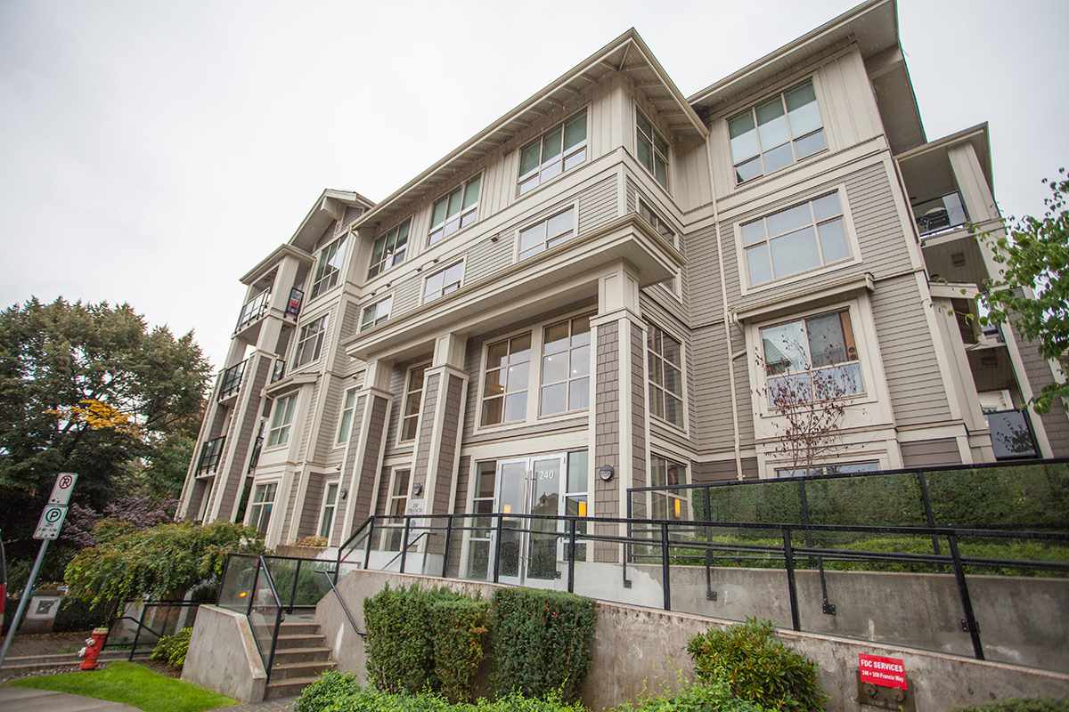 Main Photo: 408 240 FRANCIS Way in New Westminster: Fraserview NW Condo for sale : MLS® # R2202537