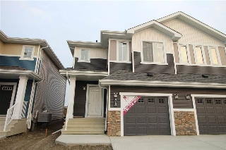 Main Photo: 473 EBBERS Way in Edmonton: Zone 02 House Half Duplex for sale : MLS® # E4081401