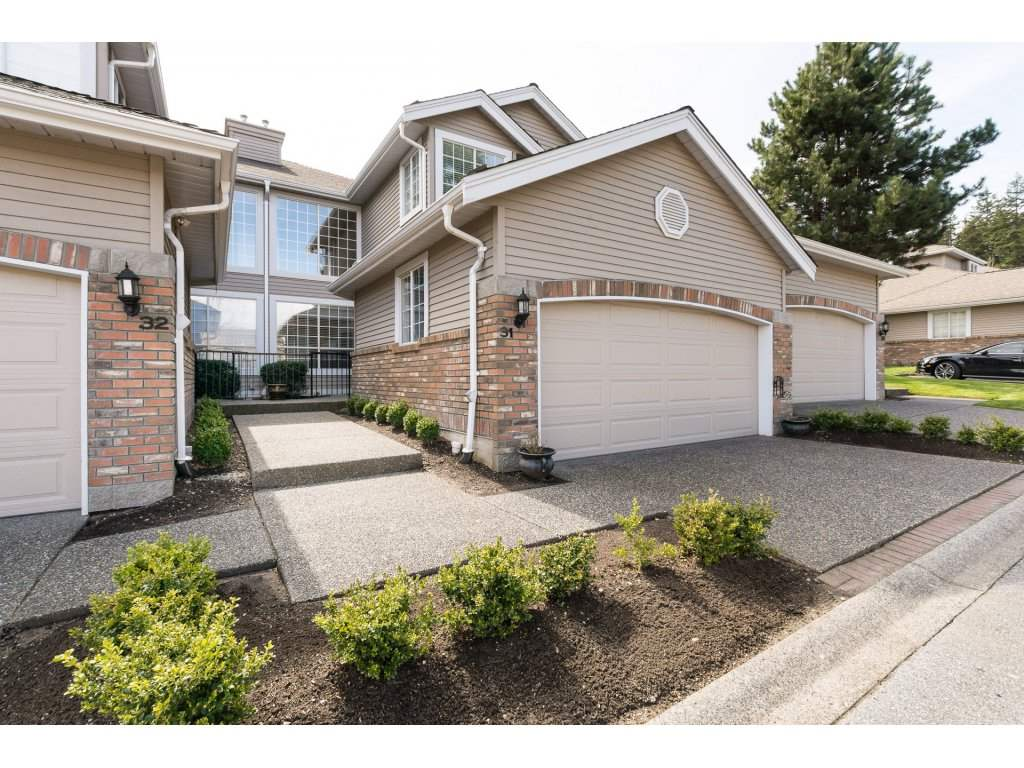 "Main Photo: 31 2688 150 Street in Surrey: Sunnyside Park Surrey Townhouse for sale in ""Westmoor"" (South Surrey White Rock)  : MLS®# R2256437"