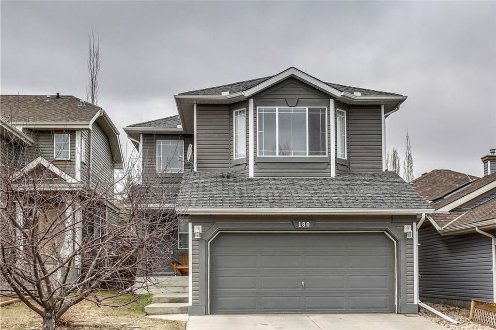 Main Photo: 180 BRIDLEPOST Green SW in Calgary: Bridlewood House for sale : MLS®# C4181194