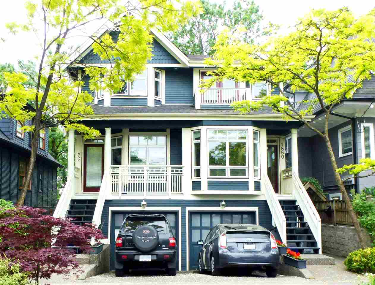 Main Photo: 1850 GRANT Street in Vancouver: Grandview VE House 1/2 Duplex for sale (Vancouver East)  : MLS® # R2069613