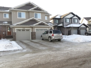 Main Photo: 2396 CASSELMAN Crescent in Edmonton: Zone 55 House Half Duplex for sale : MLS(r) # E4055235