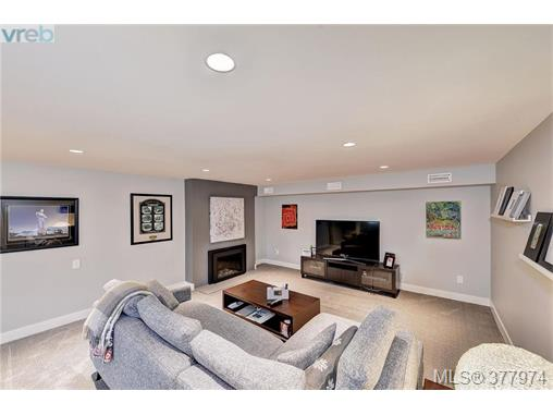 A great family room downstairs!