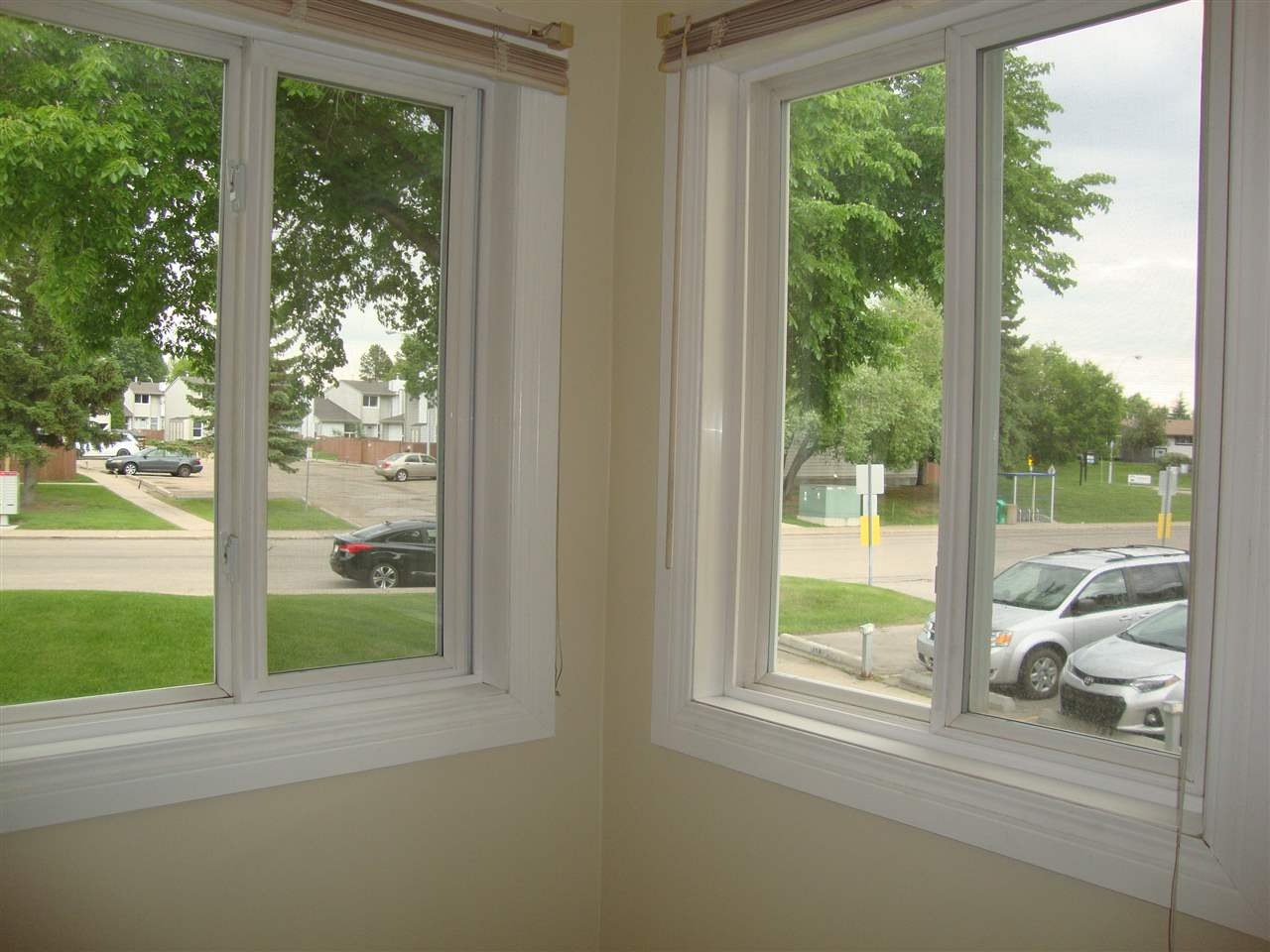Newer vinyl windows throughout.  These corner windows add lots of natural light to dining room.