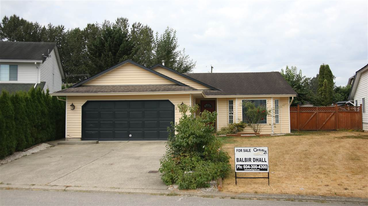 Main Photo: 2709 DEHAVILLAND Court in Abbotsford: Abbotsford West House for sale : MLS® # R2197457