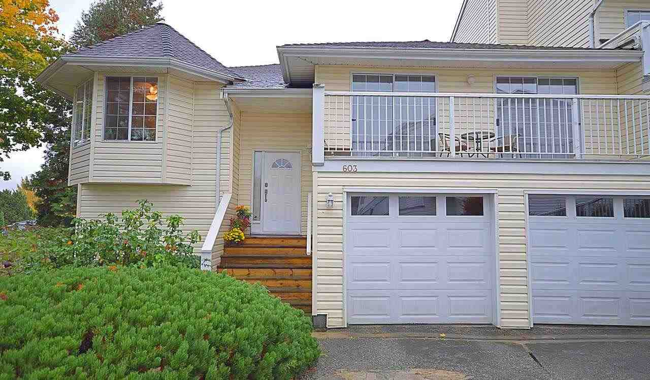 Main Photo: 603 1180 FALCON Drive in Coquitlam: Eagle Ridge CQ Townhouse for sale : MLS® # R2216239