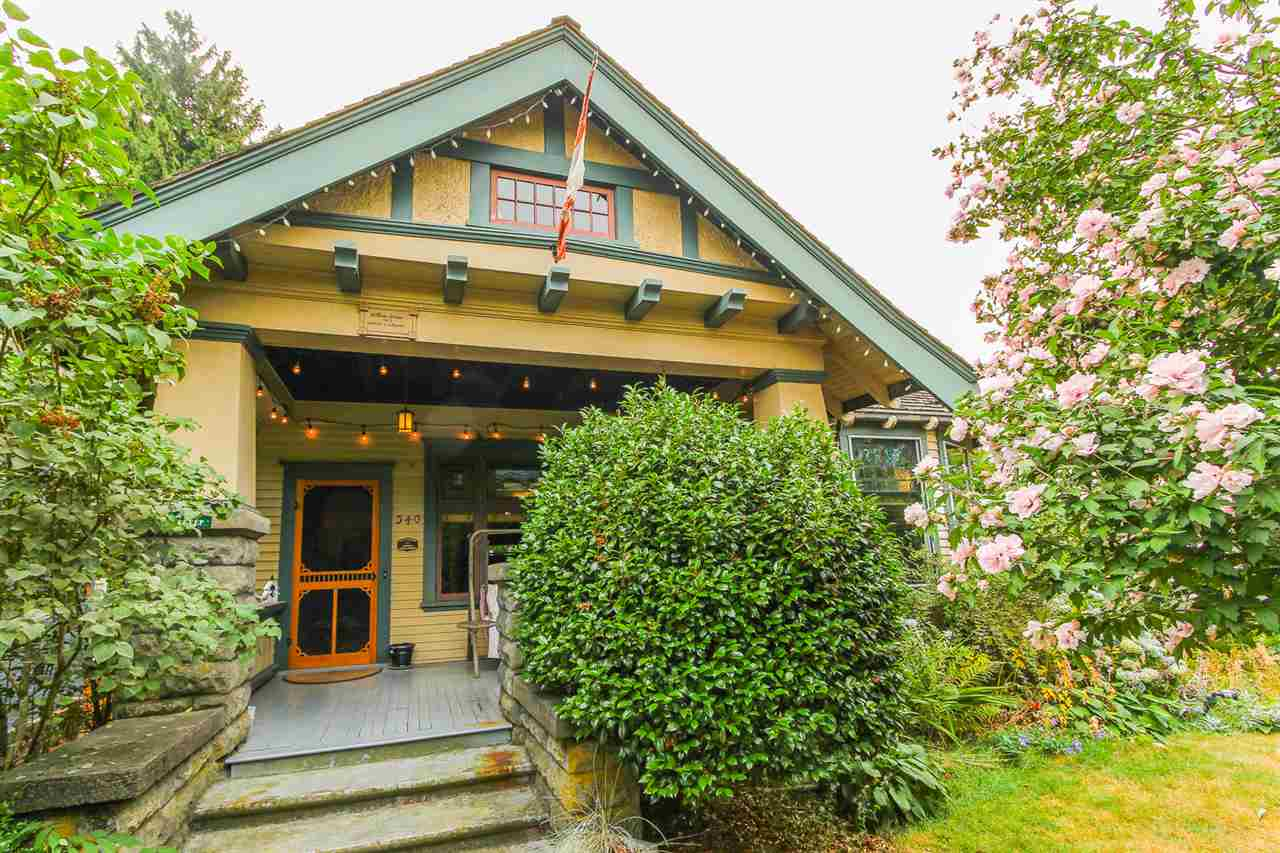 "Main Photo: 340 TENTH Street in New Westminster: Uptown NW House for sale in ""BROW OF THE HILL"" : MLS® # R2218103"