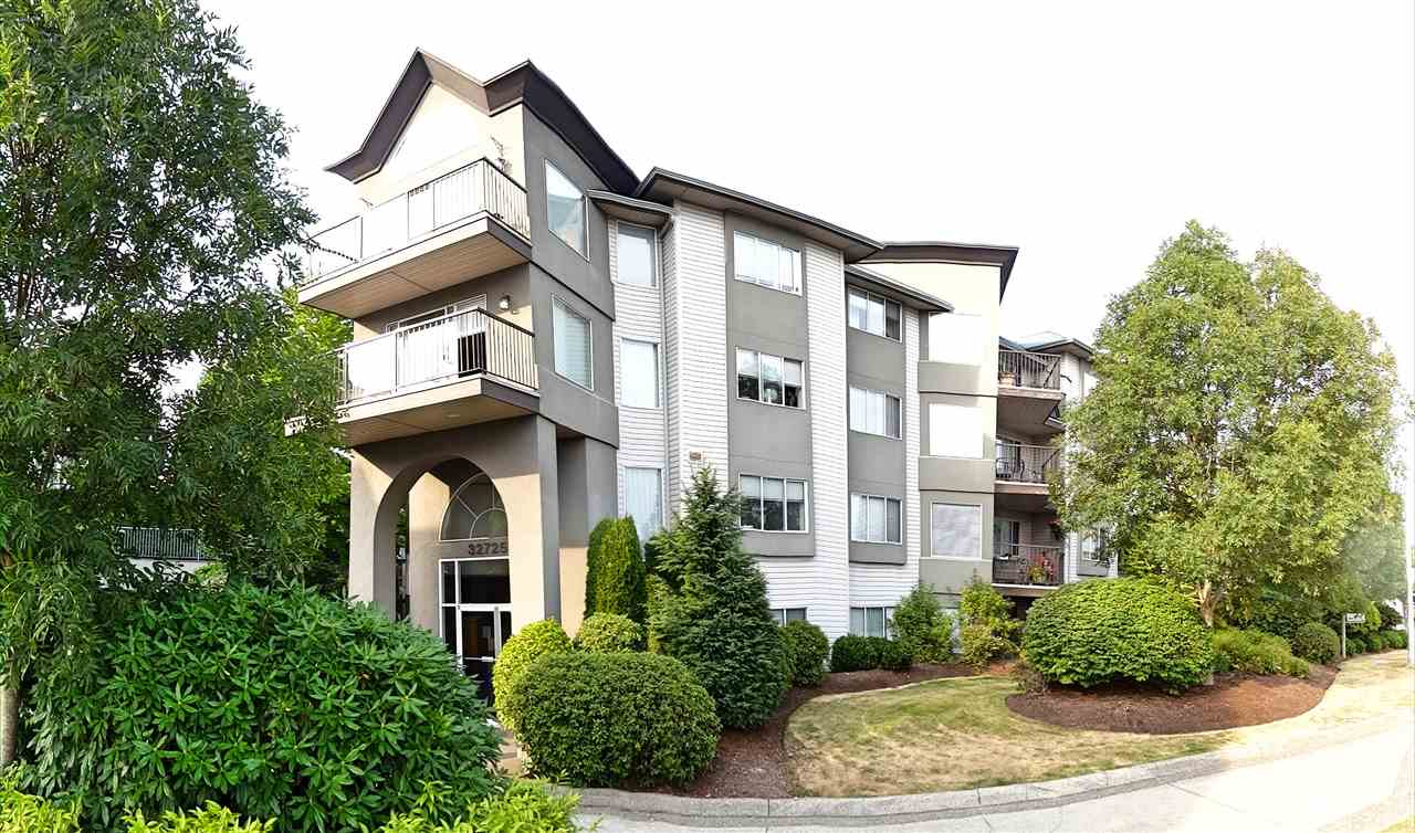 "Main Photo: 310 32725 GEORGE FERGUSON Way in Abbotsford: Abbotsford West Condo for sale in ""The Uptown"" : MLS®# R2227373"
