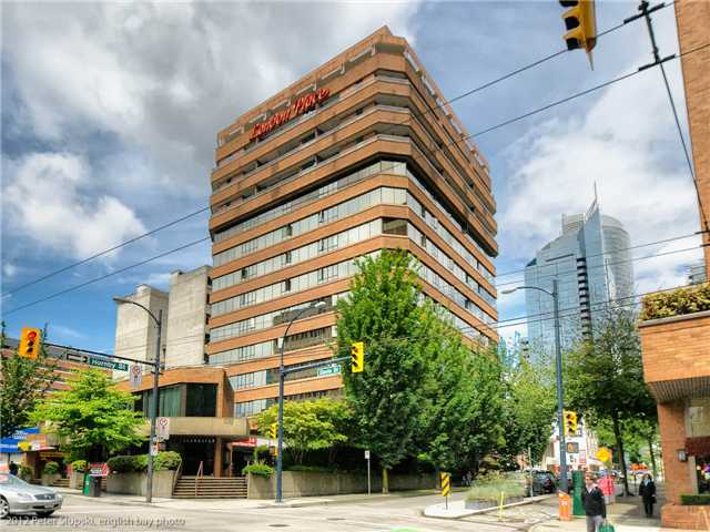 Main Photo: 705 1177 HORNBY Street in Vancouver: Downtown VW Condo for sale (Vancouver West)  : MLS® # V955817