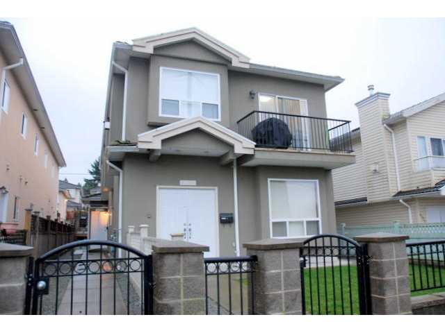 Main Photo: 4938 DOMINION Street in Burnaby: Central BN House 1/2 Duplex for sale (Burnaby North)  : MLS® # V992351