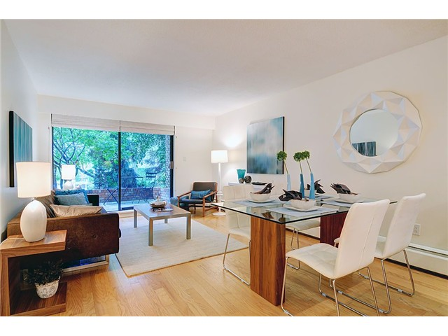 Main Photo: # 104 1844 W 7TH AV in Vancouver: Kitsilano Condo for sale (Vancouver West)  : MLS® # V1069440