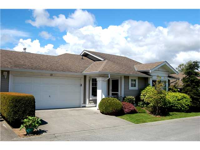 Main Photo: 19 6885 184th Street in Cloverdale: Cloverdale BC House for sale : MLS®# F1411853
