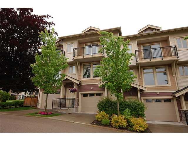 "Main Photo: 2 245 FRANCIS Way in New Westminster: Fraserview NW Townhouse for sale in ""GLENBROOK TOWNHOMES"" : MLS®# V954116"