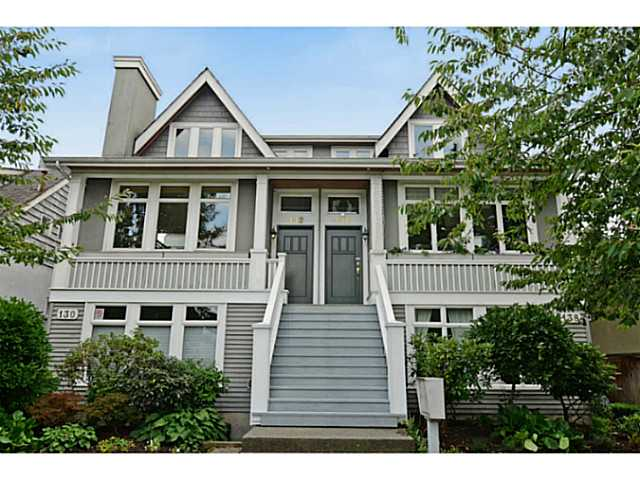 "Main Photo: 132 W 16TH Avenue in Vancouver: Cambie Townhouse for sale in ""CAMBIE VILLAGE"" (Vancouver West)  : MLS®# V1025834"