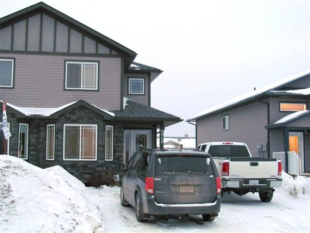 "Main Photo: 9913 117TH Avenue in Fort St. John: Fort St. John - City NE House 1/2 Duplex for sale in ""EVERGREEN ESTATES"" (Fort St. John (Zone 60))  : MLS® # N224331"