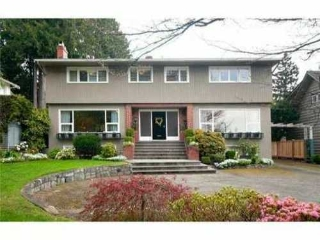 Main Photo: 6222 MCCLEERY Street in Vancouver West: Kerrisdale Home for sale ()  : MLS(r) # V863142