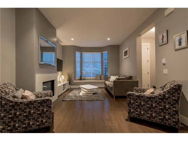 Photo 3: # 4 3432 GISLASON AV in Coquitlam: Burke Mountain Condo for sale : MLS® # V1132655