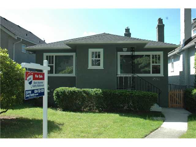 Main Photo: 2552 WILLIAM Street in Vancouver: Renfrew VE House for sale (Vancouver East)  : MLS(r) # V1015127