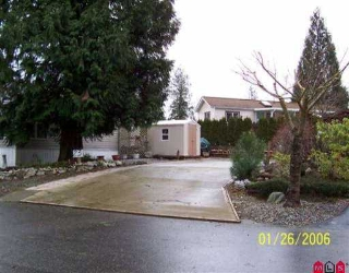 Main Photo: 23 14600 MORRIS VALLEY RD in Mission: Lake Errock Home for sale : MLS® # F2524805