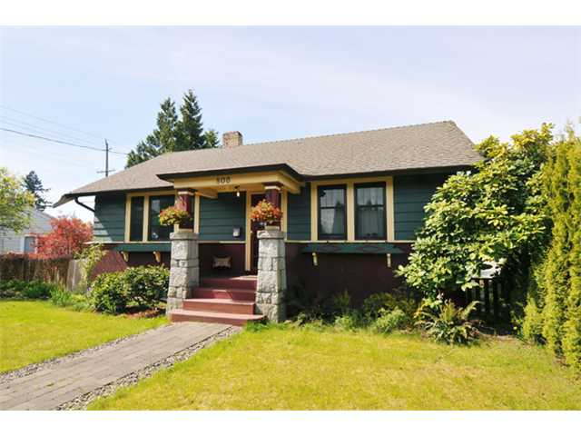 Main Photo: 806 8TH ST in New Westminster: Moody Park House for sale : MLS® # V1020542